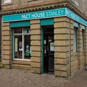 Pact  House shop front